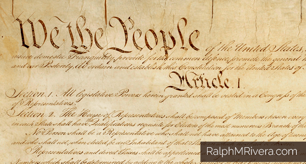 The Law Is Only The Law When I Agree It's The Law. It's not a matter of right or wrong. Each generation defines what is constitutional within the spectrum of its own experience. That's the way the framers intended the Constitution to work. By @RalphmRivera