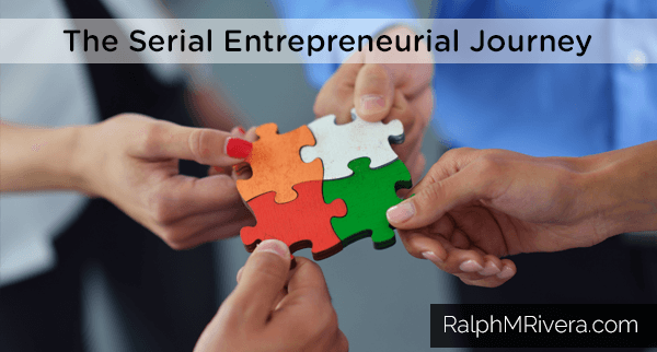The Serial Entrepreneurial Journey. You want to build a business where each partner brings something unique and valuable to the table that no other partner either wants to or can do.